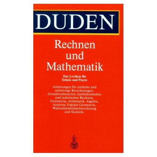 PDF] Duden. Rechnen und Mathematik. Das Lexikon für Schule und ...