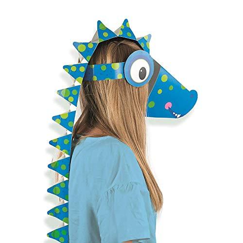 Roar Dinosaur Make Your Own Mask Fancy Dress -