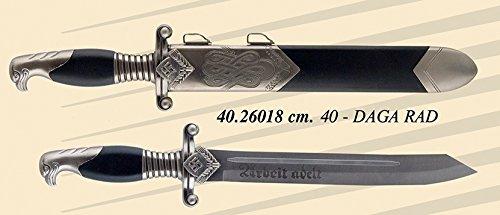 DAGA RAD UFFICIALE NAZISTA - REPLICA - CM 40 CON FODERO