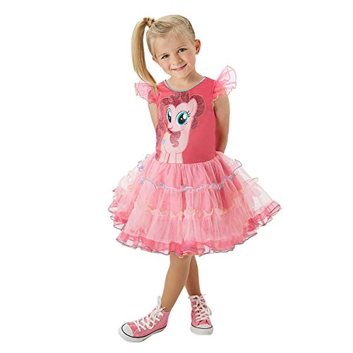 Rubie's 3620098 - MLP Pinkie Pie Deluxe - Child, Action Dress Up