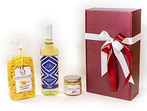 Confezione regalo natalizia enogastronomica. Pranzo natalizio - Selezione Gourmet