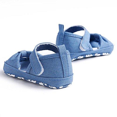 Xinantime , {Chaussures premiers pas pour bébé (garçon) bleu bleu clair 0~6 Month bleu clair