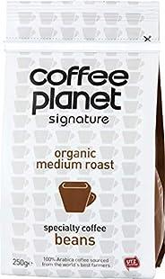 كيس قهوة تقليدية تحتوي على الكافيين من كوفي بلانيت ،حبوب كاملة -بندق250 غم