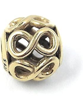 Pandora Charm Unendlichkeit 791872 mit 24 Karat Gold vergoldet