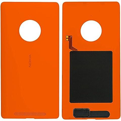 Original Nokia Akkudeckel orange für Nokia Lumia 830 (Akkufachdeckel, Batterieabdeckung, Rückseite, Back-Cover) -