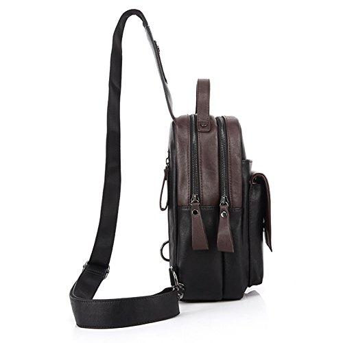Herren-Brust-Tasche/Mann/Messenger Tasche Sport Umhängetasche/männliche koreanische Version des Rucksack-Tasche/Modetrend der Herrentaschen-A A
