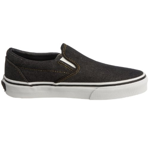 Vans U Classic Slip-on, Baskets mode mixte adulte Negro (Tea Party Black Denim)