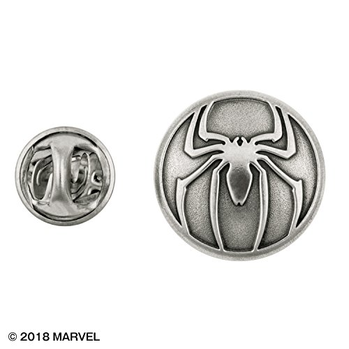 Royal Selangor Hand Finished Marvel Collection Pewter Spider Man Lapel Pin