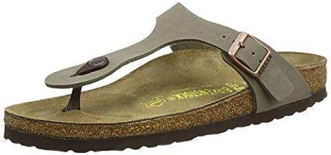 Birkenstock ARIZONA, Unisex - Adults Sandals, Beige (Stone), 2.5 UK (35 EU)
