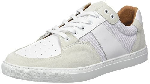 Schmoove Cup Tennis Suede/Nappa, Baskets Basses Homme Gris (gelo/white)