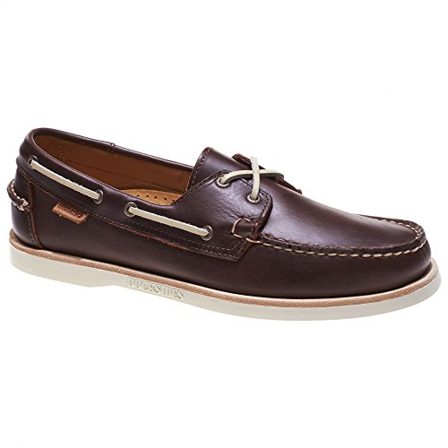 Sebago Crest Docksides 720-168 Dark Brown Leather