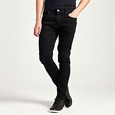 Firetrap Mens Skinny Jeans Tonal Stitching Denim Trousers Casual Pants Bottoms
