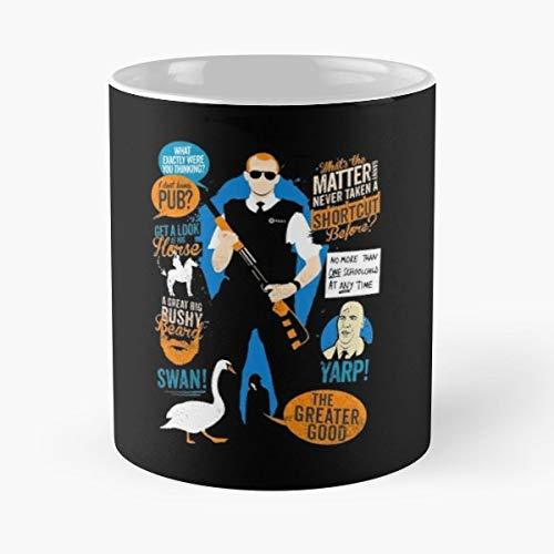 Cornetto Trilogy Shaun Of The Dead Hot Fuzz Worlds End Three Flavours - Bestes 11 Unze-Keramik-Kaffeetasse Geschenk