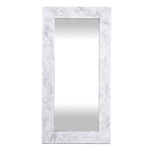 Lohoart L-935-2 - Espejo Sobre Lienzo Pintado Artesanal