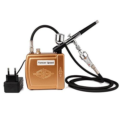 100-240V Airbrush Kompressor Set Air Kompressor Kit Tattoo Airbrush Pistole Klein Kompressor für Handwerk Tool Gold