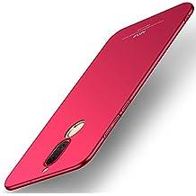 Funda Huawei Mate 10 Lite, MSVII® Ultra-delgado Funda Case Cover + Protector de Pantalla Para Huawei Mate 10 Lite (no es compatible con Huawei Mate 10) - Rojo / RED JY00365