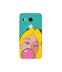 KolorEdge Printed Back Cover For LG Nexus 5X Multicolor - (8412-Ke11062Nexus5XSub)