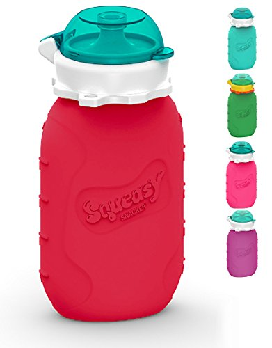 Squeasy Snacker (6 Oz - Red)