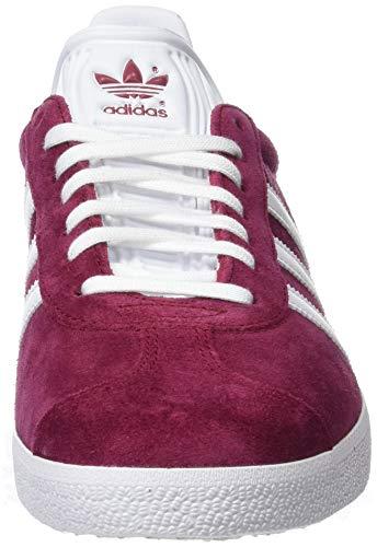 watch bd7df 49a75 adidas Gazelle, Scarpe da Fitness Uomo, Rosso (Buruni Ftwbla Dormet 000),  43 1 3 EU