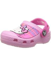 crocs CC Hello Kitty Plaid Clog EU - Zuecos de material sintético niña