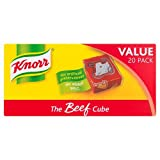 Knorr Beef Stock Cubes, 20 x 10 g