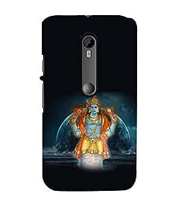 EPICCASE Matcham Avatar Mobile Back Case Cover For Moto X Play (Designer Case)