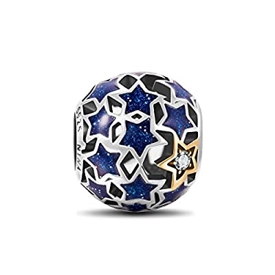 NinaQueen - Starry Night - 925 Sterling Silver Charms