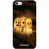 HomeSoGood Framed Friendship Multicolor 3D Mobile Case For iPhone 5 / 5S (Back Cover)