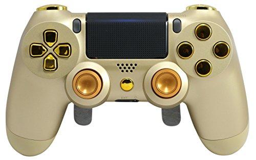 PS4Elite Controller Verstellbar Paddles, Gold PS4Controller, GM Master MOD, Trigger Stoppt, MODDING Controller Rapid Fire, Drop Shot, Quickscope Cod Black Ops 3, Infinite Warfare, MW Das -