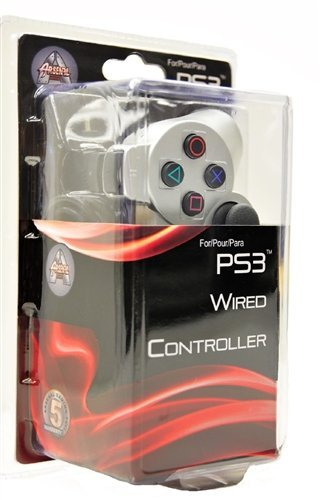 Arsenal PS3Wired Controller-Silber (Silber Ps3 Controller)