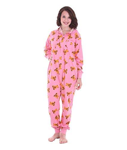 Schlafoverall, Schlafanzug Damen, Hausanzug, CUTE FUNZEE