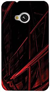 Timpax protective Armor Hard Bumper Back Case Cover. Multicolor printed on 3 Dimensional case with latest & finest graphic design art. Compatible with only HTC - M7. Design No :TDZ-20593