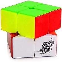 TopTops® Cyclone Boys 2 x 2 x 2 Velocidad del rompecabezas del cubo cuadrado mágico cubo Stickerless colorido