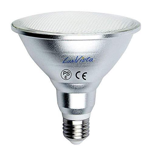Luxvista PAR38 LED Lampe E27 15W wasserdicht IP65 Reflektorlampe 220V Warmweiß 3000K 120 Grad (Nicht Dimmbar, 1-Stück)