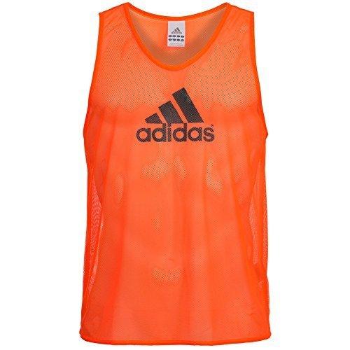 Adidas 741533 - Pettorine allenamento, Arancione (Warning), S