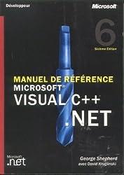 Visual C++ .NET : Manuel de référence