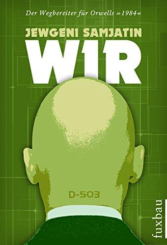 Buchseite und Rezensionen zu 'WIR' von Jewgeni Samjatin