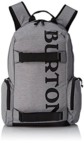 Burton Unisex Alltagsrucksack Emphasis, Grey Heather, 31 x 19 x 47 cm, 26 Liter, 16328100079 (Zubehör Heather)