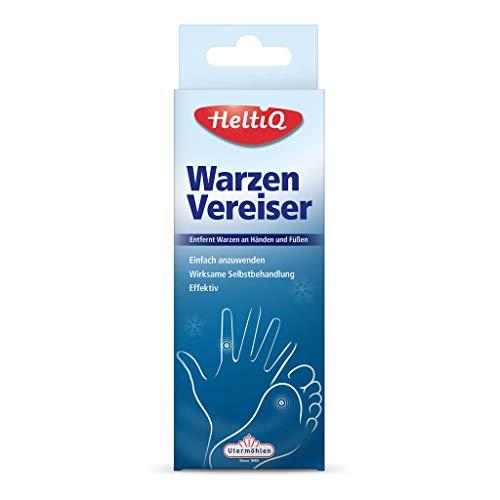 HeltiQ - einfacher und effektiver Warzenentferner Vereiser - Entfernt Warzen an Händen und Füßen...