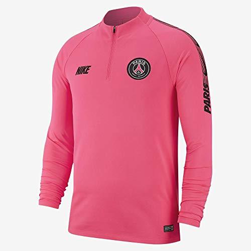 Nike Herren PSG M NK Dry SQD DRIL Long Sleeved T-Shirt, Hyper pink/Black, M