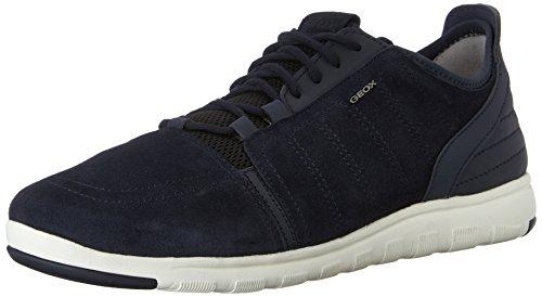 Geox u xunday 2fit a scarpe low-top, uomo, blu (navy), 41