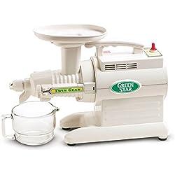 Tribest Greenstar GS1000 Blanc - Extracteur De Jus Horizontal