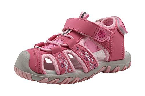 Apakowa Sandali Sportivi Estivi per Bambine e Bambini Sandali Outdoor da Trekking (Color : Pink, Size : 25 EU)