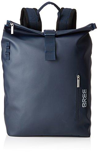 BREE Unisex-Erwachsene Punch 713, Blue, Backpack M Rucksack, Blau), 15x34x42 cm