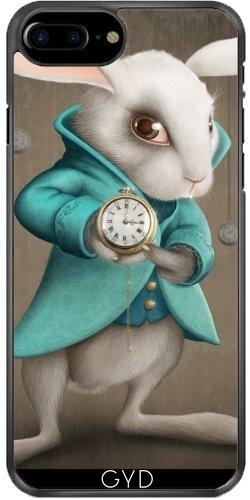 Custodia in silicone per Iphone 7 / Iphone 8 - Coniglio Bianco by GiordanoAita Plastica rigida