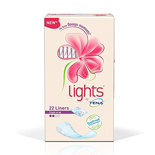 Lights by TENA Liners - (90ml) Single-wrapped by Tena