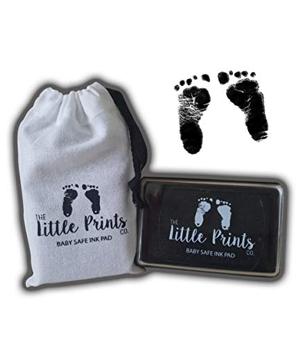 Labels, Indexes & Stamps Badge Holder & Accessories 1set Baby Handprint And Footprint Ink Pads Paw Print Ink Kits For Babies And Pets New Design Reliable Performance