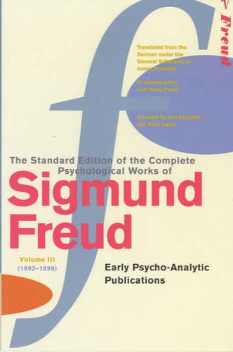 The Complete Psycholgical Works of Sigmund Freud: Vol 3