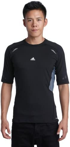 Adidas, Maglietta manica corta Uomo Techfit Preparation, Nero (nero), XL XL XL | bello  | Prezzo Affare  10ade9