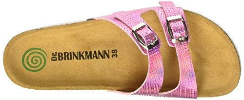Dr. Brinkmann 700918, Mules femme Rose - Pink (rosé)